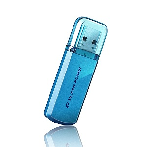 Флеш диск 32Gb Silicon Power Helios 101,USB 2.0,Blue