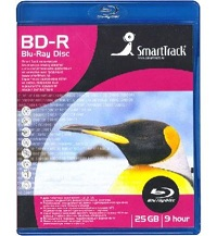 Диск Smart Track BD-R 25Gb 4x Blu-Ray