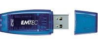Флеш диск Emtec 32Gb EKMMD32GC400,USB 2.0,Синий