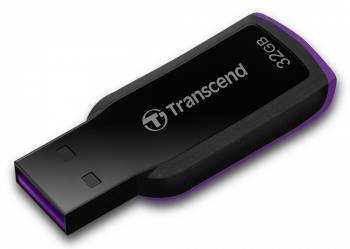 Флеш диск Transcend 32Gb JetFlash 360,USB2.0,Черный