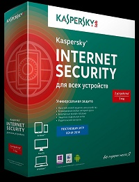 Карта продления Kaspersky Internet Security 2 ПК,1 год,Multi