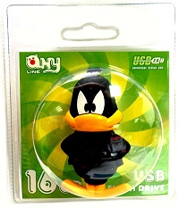 USB флеш Mirex ANYline DUFFY 16 GB
