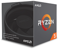 Процессор AMD Ryzen 5 1400 AM4 (YD1400BBAEBOX) (3.2GHz) Box