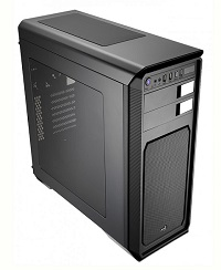 Корпус ATX AEROCOOL AERO-500 WINDOW,Midi-Tower,без БП,Black