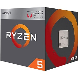 Процессор AMD Ryzen 5 2400G,AM4,BOX [yd2400c5fbbox]